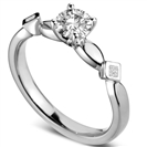 Image for Round & Princess Diamond Designer Ring