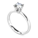 Image for Classic Round Diamond Engagement Ring