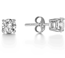 Image for Traditonal Round Diamond Stud Earrings