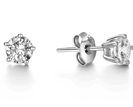 Image for Comtemporary Round Diamond Designer Earrings
