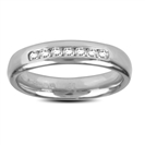 0.25Ct I1/G Round Diamond Eternity Ring