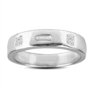 0.18Ct SI3/G Designer Wedding Ring