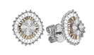 Image for Elegant Marquise/Princess/Baguette Diamond Designer Earrings
