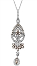 Image for Elegant Round Diamond Designer Pendant