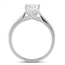 Round Diamond Shoulder Set Engagement Ring