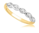 Image for 5 Stone Marquise Diamond Half Eternity Ring