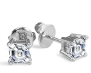 Image for Classic Asscher Diamond Stud Earrings