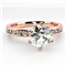Shoulder Set Diamond Engagement Ring DHMTSS876 Rose Thumbnail 3