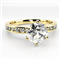 Shoulder Set Diamond Engagement Ring DHMTSS876 Yellow Thumbnail 2
